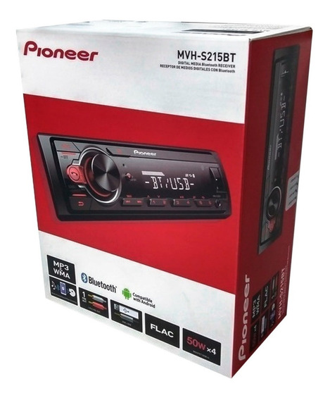 Radio Pioneer Mvh-215bt Original Usb/bt
