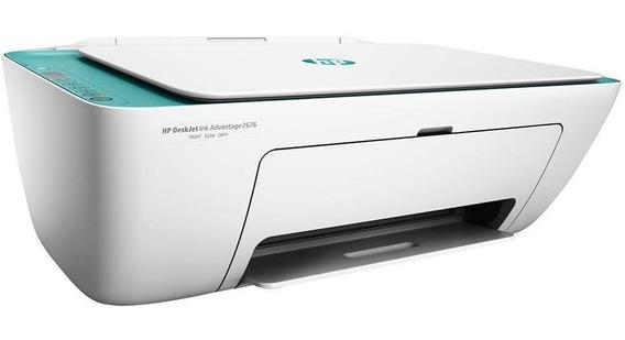 Impressora Multifuncional, Hp, 2676, Jato De Tinta, Branco
