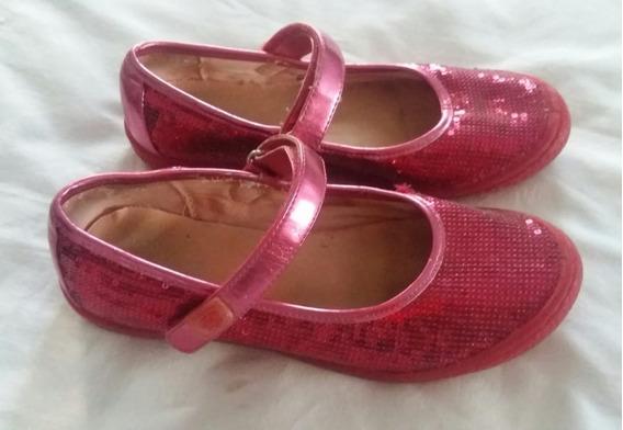 Ptd- 3346 Zapatos De Nena Importados Brillo Children Place