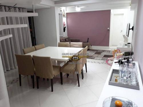 Cobertura Com 3 Dormitórios À Venda, 110 M² Por R$ 570.000,00 - Jardim Vila Formosa - São Paulo/sp - Co0043