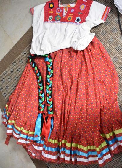 Vestuario Típico Jarabe Mixteco