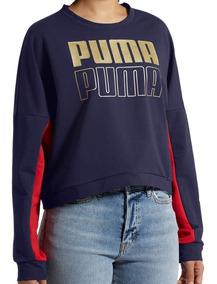 15cf101df Sudadera Atletica Cuello Redondo Mujer 06 Puma Full 852585