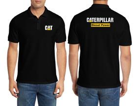 Camisa Caterpillar Diesel Power Gola Polo 100% Algodão