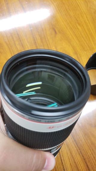 Lente Canon 70-200 Mark Ii Série L F2.8