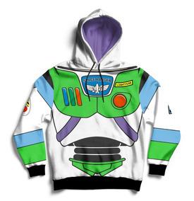 Buzo Hoodie Buzz Lightyear Toy Story Full Print