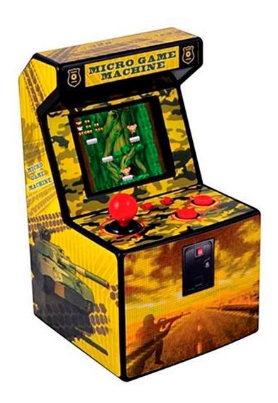 Micro Arcade Machine - 240 Jogos 16 Bits Video Game Arcade