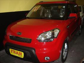 Kia Soul Ex Motor 1.6 2011 Vermelho