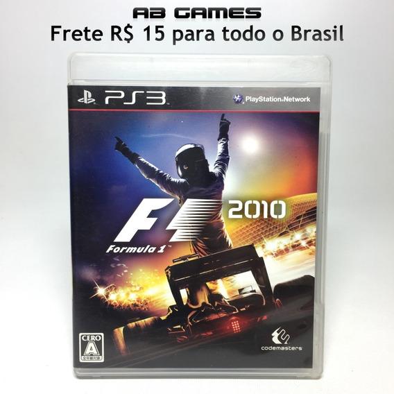 F1 2010 Japonês Playstation 3 Ps3