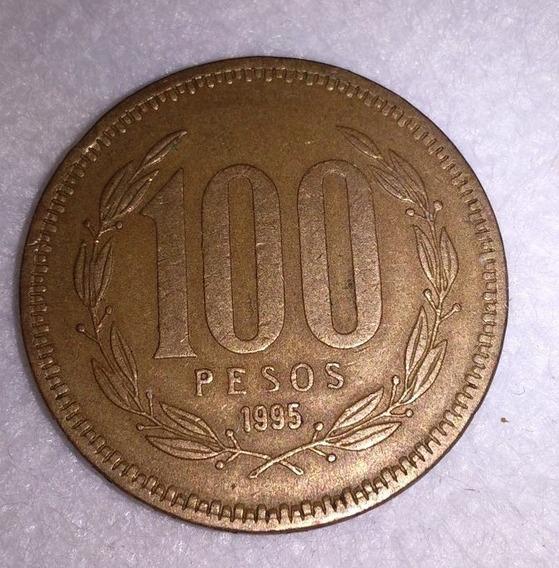 Moneda De Chile 100 Pesos De 1995