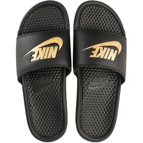 46d52e2f1ffc7 Chinelo Nike Benassi Dourado - Chinelos Nike para Masculino no ...