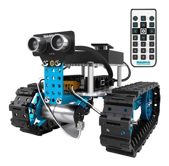 Kit Robot Carro 2 En 1 Control Armable Robotica Bagc
