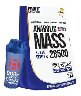 Anabolic Mass 28500 3kg + Shaker - Profit