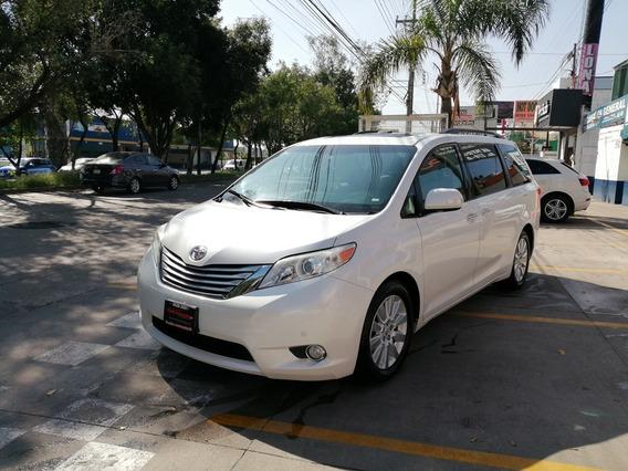 Toyota Sienna Xle Limited 2013 Blanca