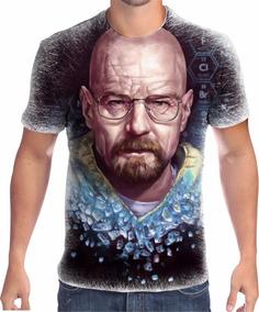 Camisa Camiseta Breaking Bad Walter White Heisenberg