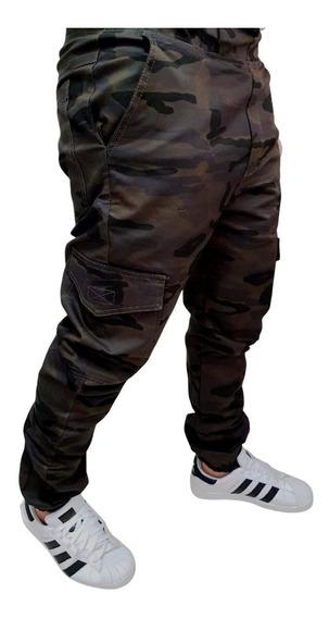 Calça Jogger Masculina Em Sarja Estilo Jeans Produto Top!!!!