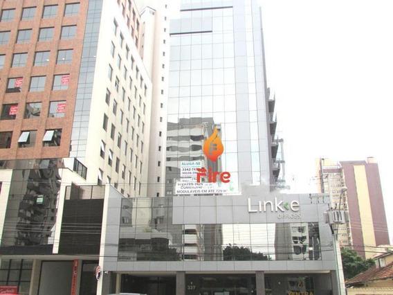 Sala Comercial Para Venda Em Curitiba, Cabral, 1 Dormitório, 1 Banheiro, 1 Vaga - F00649_2-872124