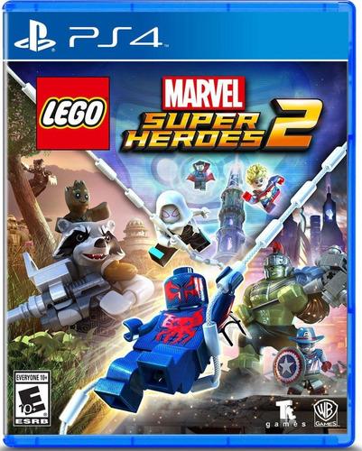 Lego Marvel Super Heroes 2 Ps4 - Mídia Física Novo Portugues