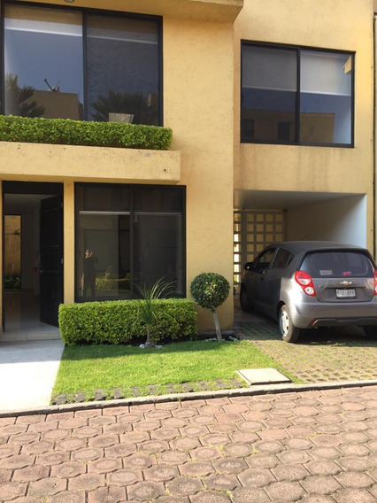Rento Preciosa Casa En Fraccionamiento