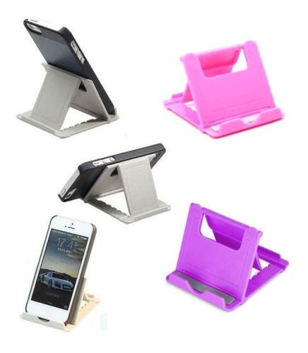 Soporte Celular O Tabletas Mesa Escritorio Ajustable Colores
