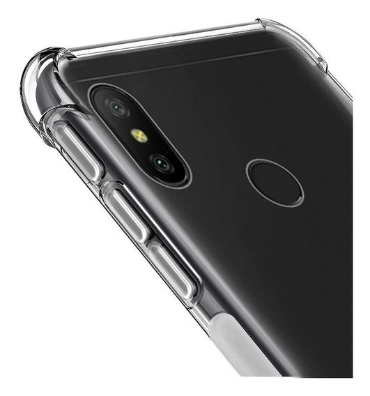 Capa Anti Queda Celular Xiaomi Redmi Note 6 Pro + Película