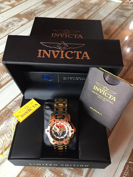 Pronta Entrega!! Invicta Dc Mulher Maravilha 26839