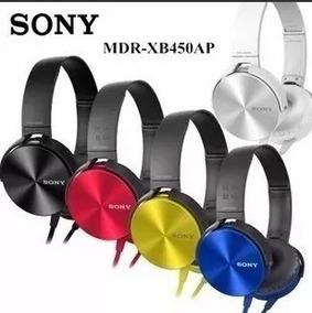 Fone Ouvido Sony Headphone Mdr-xb450ap Extra Bass