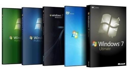 Windows 7 Todas As Versões 32/64 Para Pc Fracos Médios E Potentes