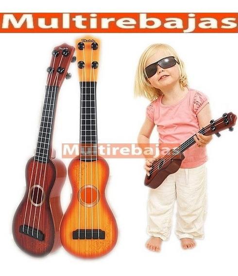 Guitarra 4 Cuerdas Musical Para Ninos