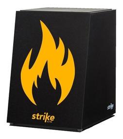 Cajon Acústico Fsa Strike - Fire Sk4051