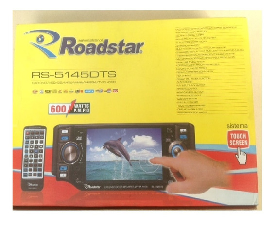 Rádio Tv Dvd Roadstar Rs-5145 Dts