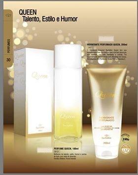 Kit Perfume + Hidratante Feminino Queen Bachellor + Brinde
