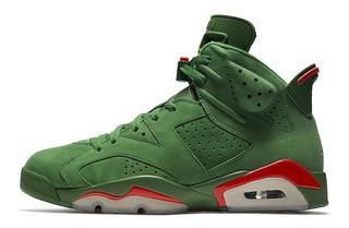 Zapatillas Air Jordan 6 Gatorade Green - Envió Gratis - 50%