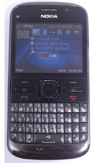 Nokia E5-00 Preto Original Semi Novo