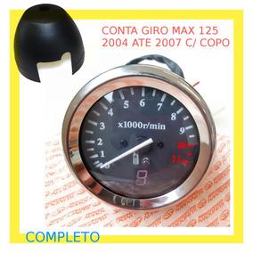 Tacometro Conta Giro C/ Copo Para Max 125 2004/07 Kit C/ 2