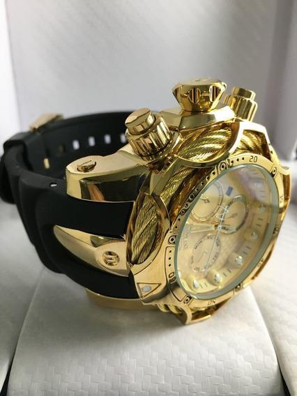 Relógio Invicta Reserve Venom Dourado