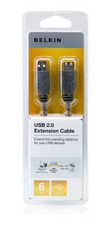 Cable Usb Impresora Belkin Original - Factura A / B