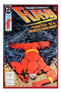 Flash #41 Trapped By A World Gone Mad En Ingles 1990