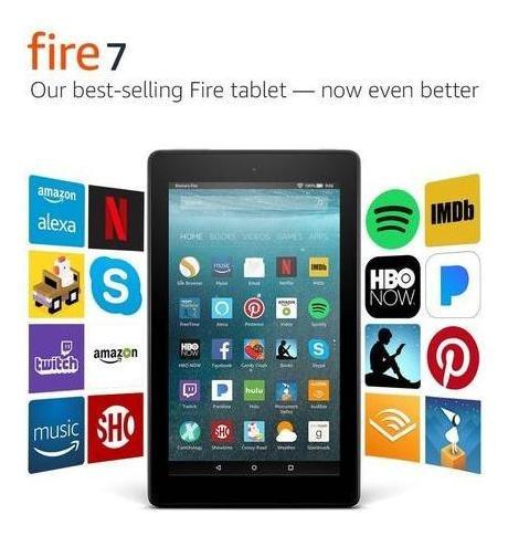 Tableta Amazon Fire 7 Pantalla De 7  16gb