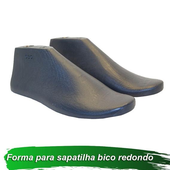 Forma Para Sapatilha Bico Redondo 8 Pares