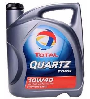 Aceite 10w40 Semisintetico Total Quartz 7000 4 Lt