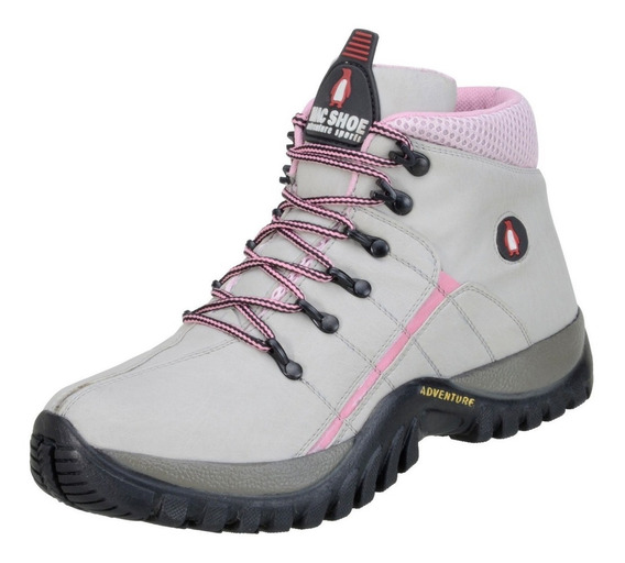 Tênis Bota Coturno Adventure Fem Masc Adulto Infant Trilha