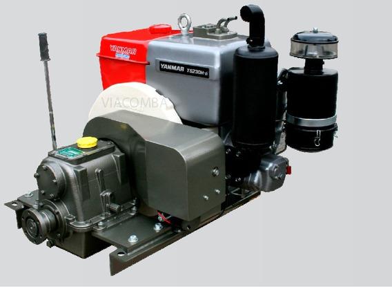Motor Yanmar Marinizado Bm230 Com Alternador Aplicação Marit