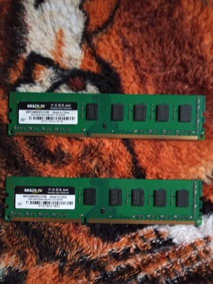Memória Ram Ddr3 Dois Pente De 4gb