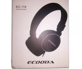 Fone Ecooda Ec116 - Cores Sortidas