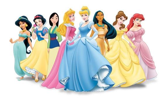 Maleta Infantil De Pinturas Princesas Contem 86 Itens