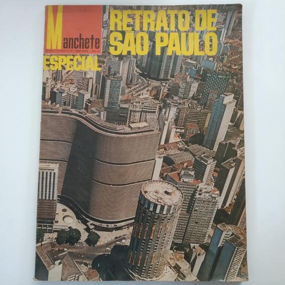 Revista Manchete - Retrato De São Paulo / 25 Jan 1970