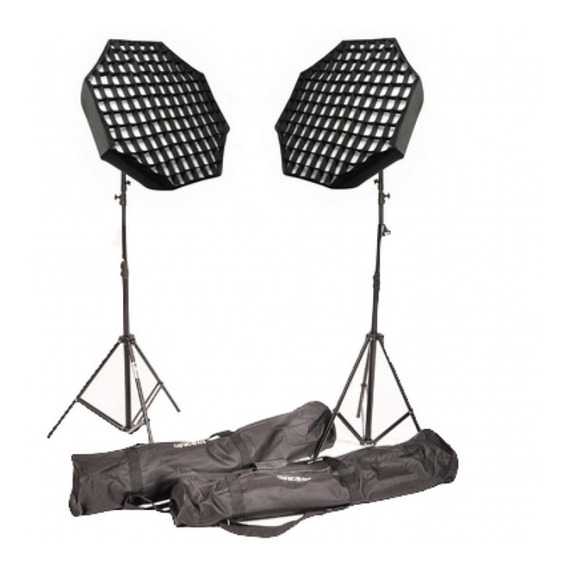 Kit Softbox Agata Iii Videos Fotos Greika Bivolt