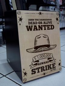 Strike Cajon Acustico Sk4018 Wanted