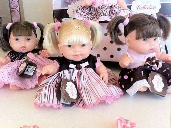 Kit 3 Boneca Dolls Tuchucas Cotiplas