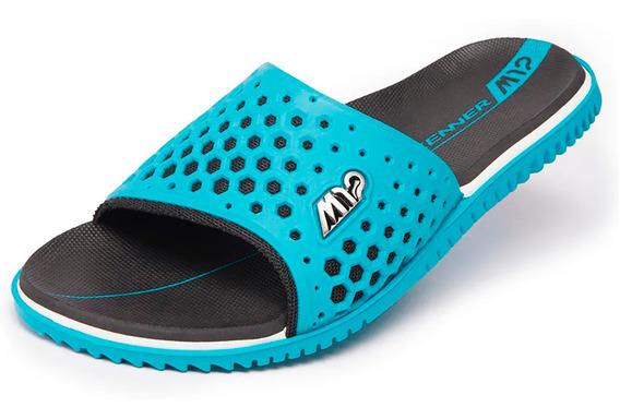 Chinelo Kenner Slide M12 Sport Masculino Azul - Original